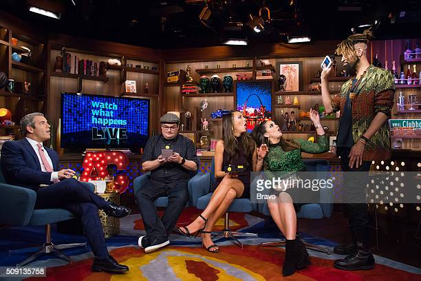 Andy Cohen Bobby Moynihan Kristen Doute Katie Maloney and Ty Hunter