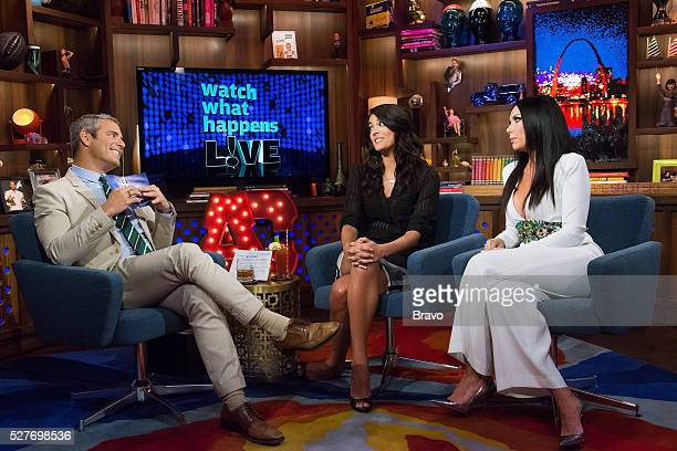 Andy Cohen Cecily Strong and LeeAnne Locken f
