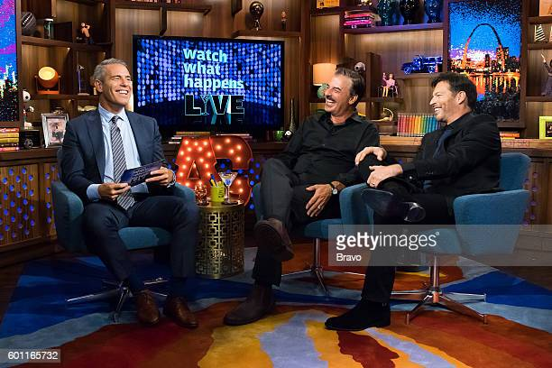 Andy Cohen Chris Noth and Harry Connick Jr