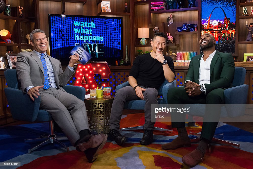 Andy Cohen, Daniel Dae Kim and Morris Chestnut --