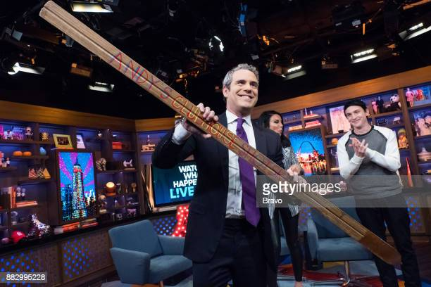 Andy Cohen Danielle Staub and Robin Lord Taylor