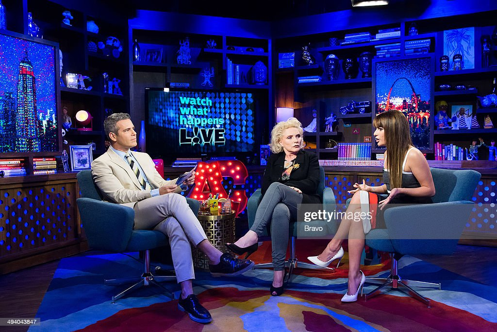 Andy Cohen, Debbie Harry and Lea Michele --
