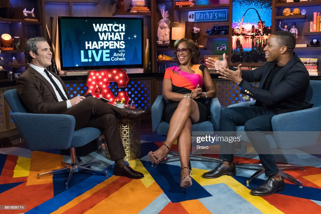Andy Cohen, Gayle King and Leslie Odom Jr. --