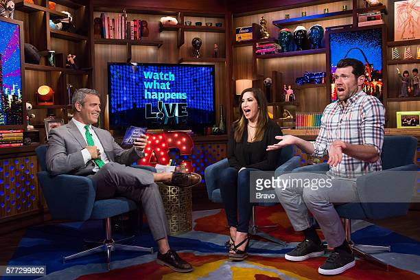 Andy Cohen Jacqueline Laurita and Billy Eichner
