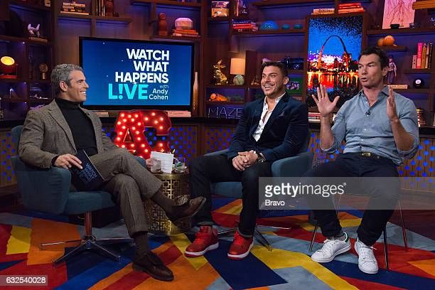 Andy Cohen Jax Taylor and Jerry O'Connell