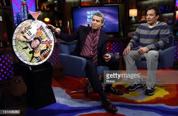 Andy Cohen Jimmy Fallon Photo by Peter Kramer/Bravo/NBCU Photo Bank