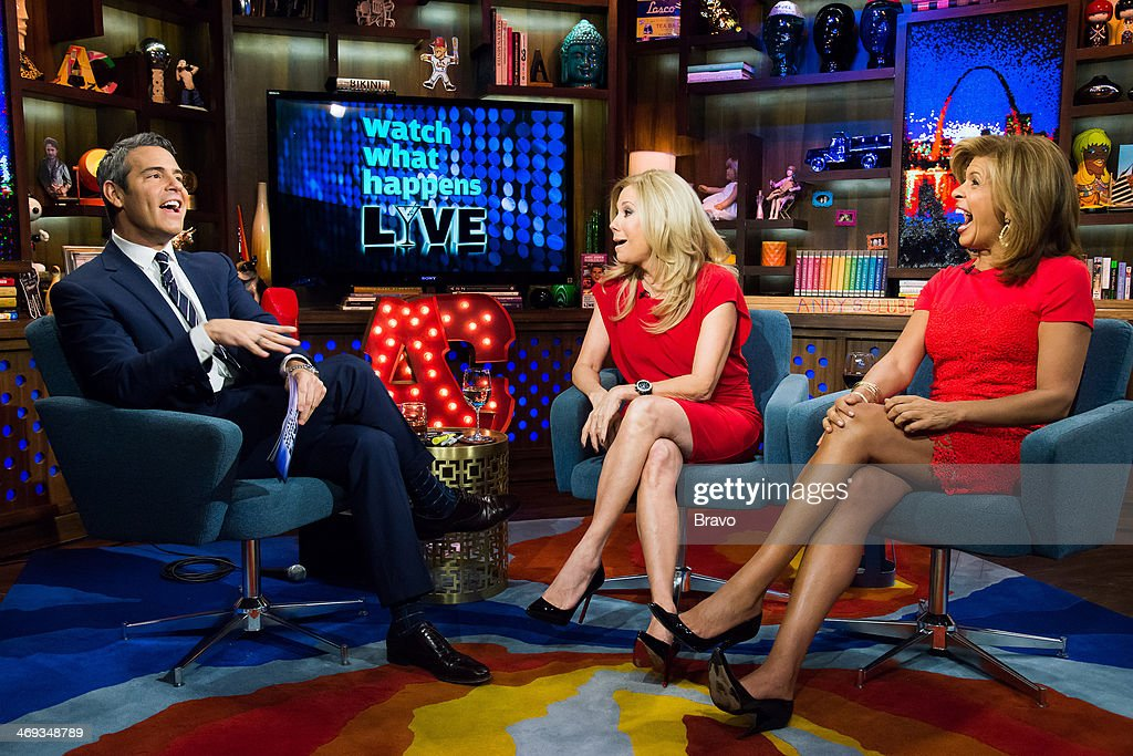 Andy Cohen, Kathie Lee Gifford and Hoda Kotb -- Photo by: Charles Sykes/Bravo/NBCU Photo Bank via Getty Images