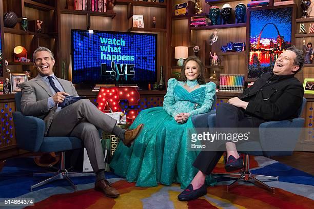 Andy Cohen Loretta Lynn and Isaac Mizrahi