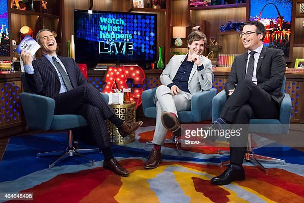 Andy Cohen Mark Duplass and John Oliver