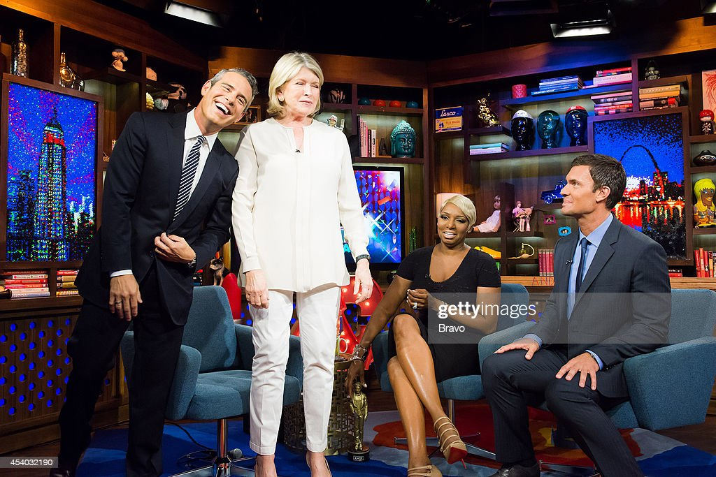 Andy Cohen, Martha Stewart, NeNe Leakes and Jeff Lewis --
