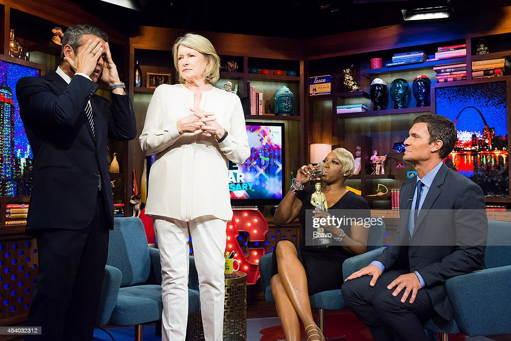 Andy Cohen, Martha Stewart, NeNe Leakes and Jeff Lewis --