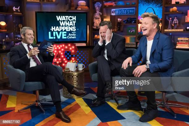 Andy Cohen Matthew Perry and Gordon Ramsay