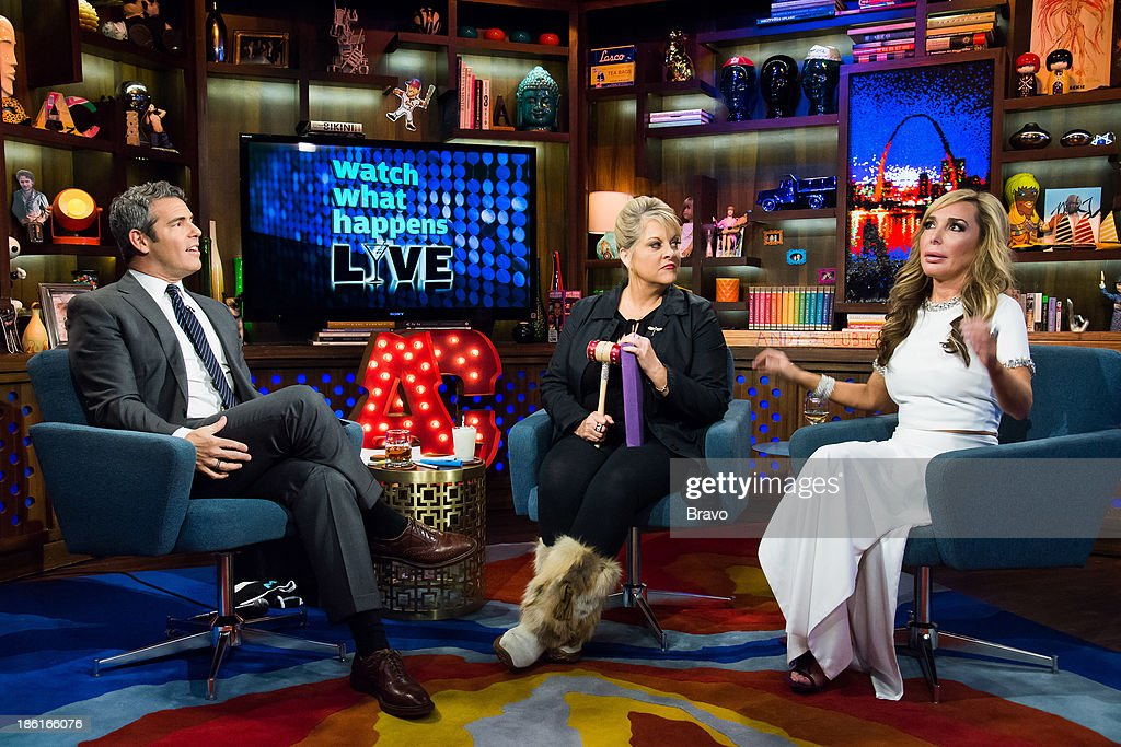 Andy Cohen, Nancy Grace and Marysol Patton -- Photo by: Charles Sykes/Bravo/NBCU Photo Bank via Getty Images
