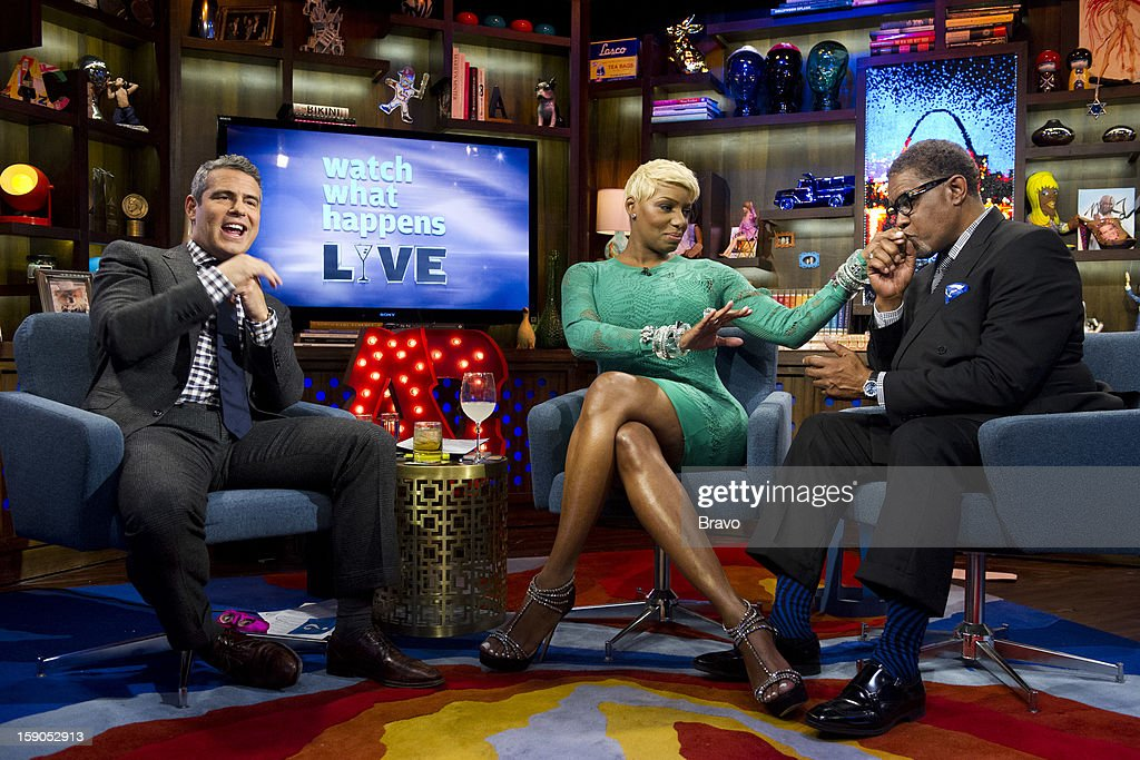 Andy Cohen, NeNe Leakes and Gregg Leakes -- Photo by: Charles Sykes/Bravo/NBCU Photo Bank via Getty Images