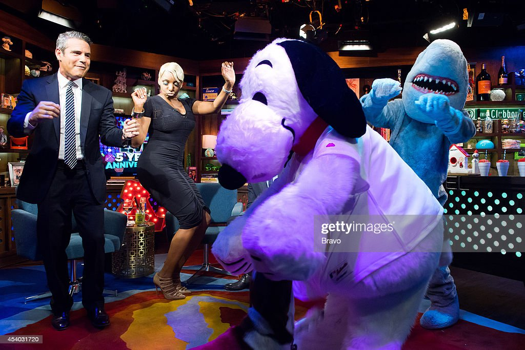 Andy Cohen, NeNe Leakes and Snoopy --