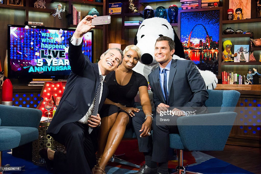 Andy Cohen, NeNe Leakes, Snoopy and Jeff Lewis --