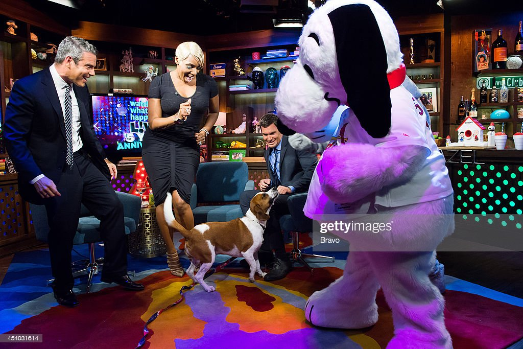 Andy Cohen, NeNe Leakes, Wacha, Jeff Lewis and Snoopy --