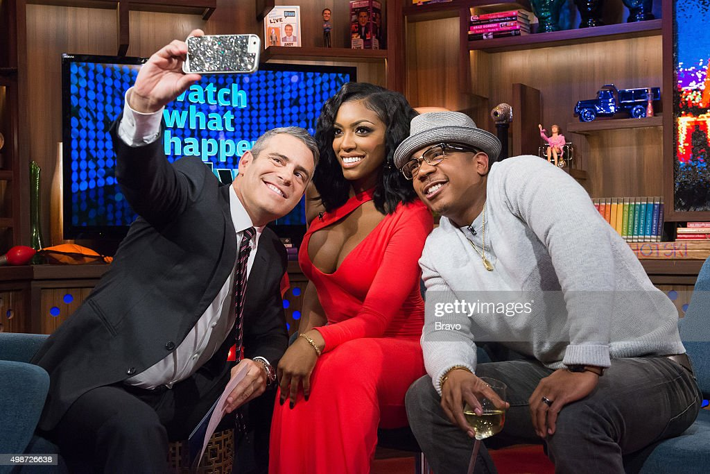 Andy Cohen, Porsha Williams and Ja Rule --