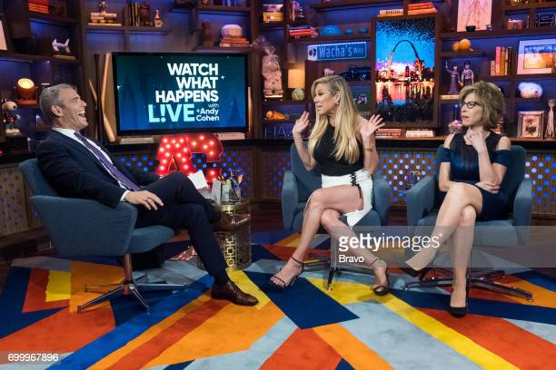 Andy Cohen Ramona Singer and Jackie Hoffman