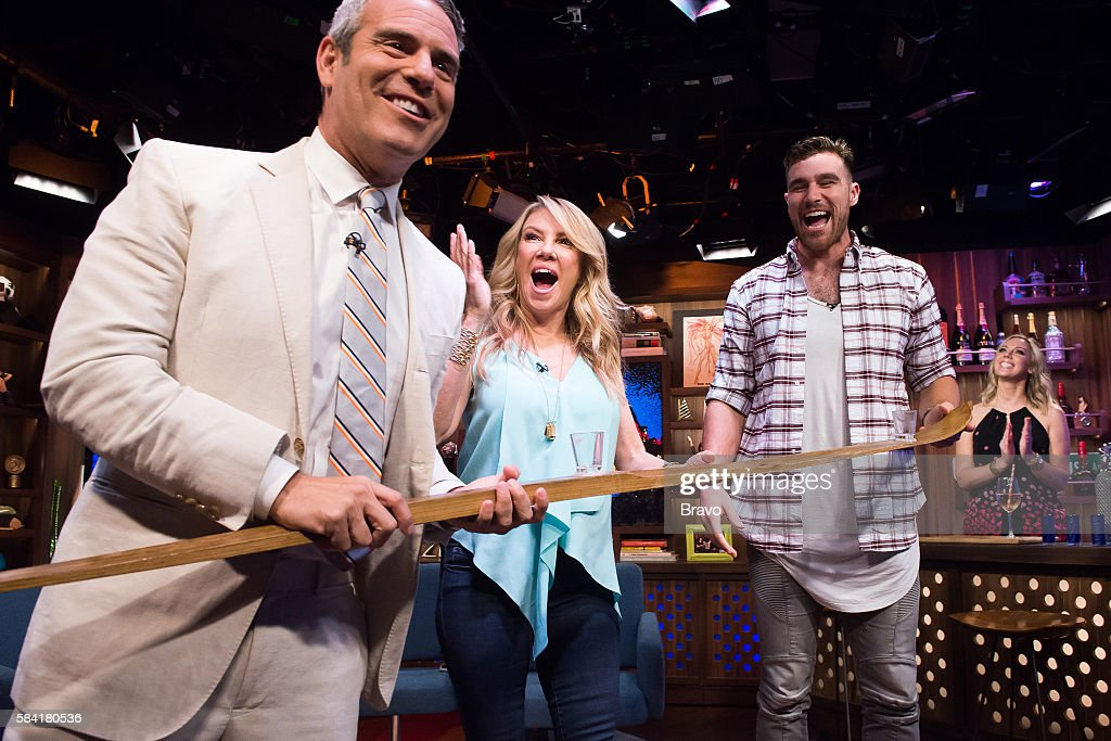 Andy Cohen Ramona Singer and Travis Kelce