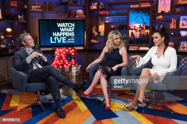 Andy Cohen Sarah Michelle Gellar and Kyle Richards