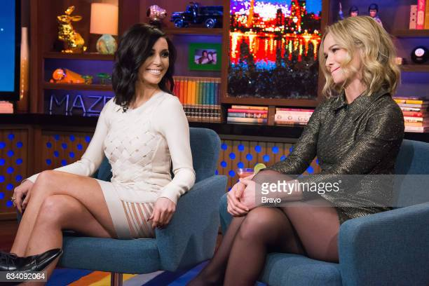 Andy Cohen Scheana Marie Shay and Marissa Hermer