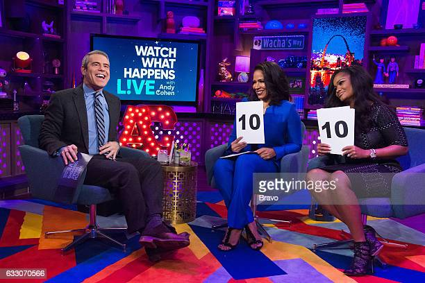 Andy Cohen Sheree Whitfield and Dr Heavenly Kimes