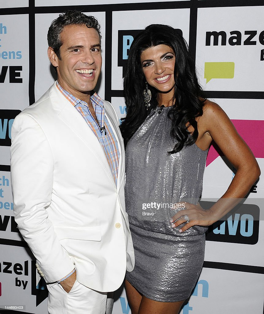 Andy Cohen, <a gi-track='captionPersonalityLinkClicked' href=/galleries/search?phrase=Teresa+Giudice&family=editorial&specificpeople=5912953 ng-click='$event.stopPropagation()'>Teresa Giudice</a> --