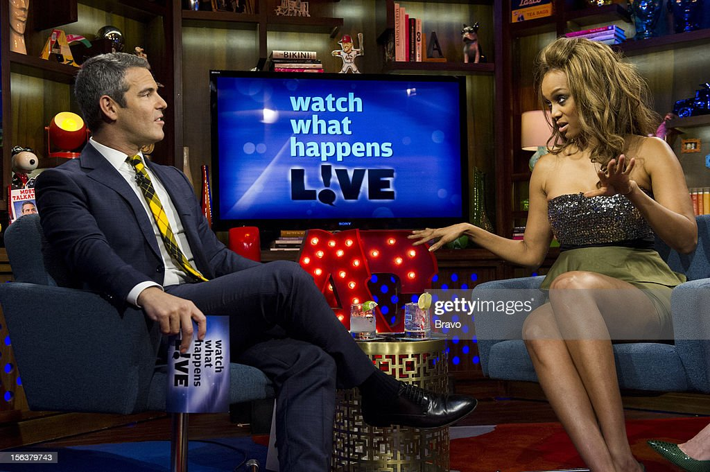 Andy Cohen, Tyra Banks -- Photo by: Charles Sykes/Bravo/NBCU Photo Bank via Getty Images