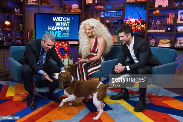 Andy Cohen Wacha Erika Jayne and Parker Young