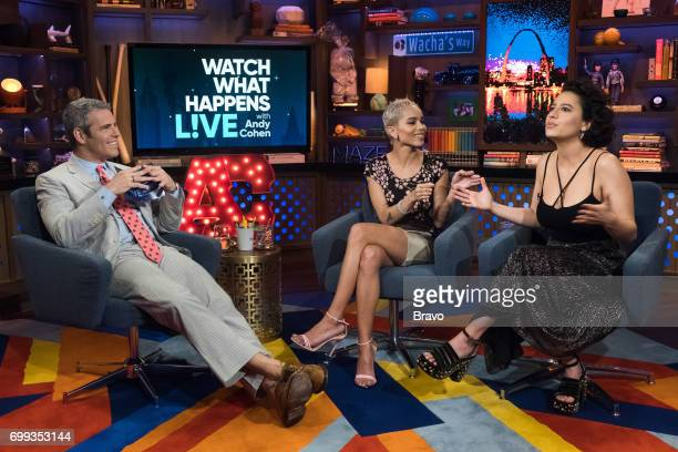 Andy Cohen Zoe Kravitz and Ilana Glazer