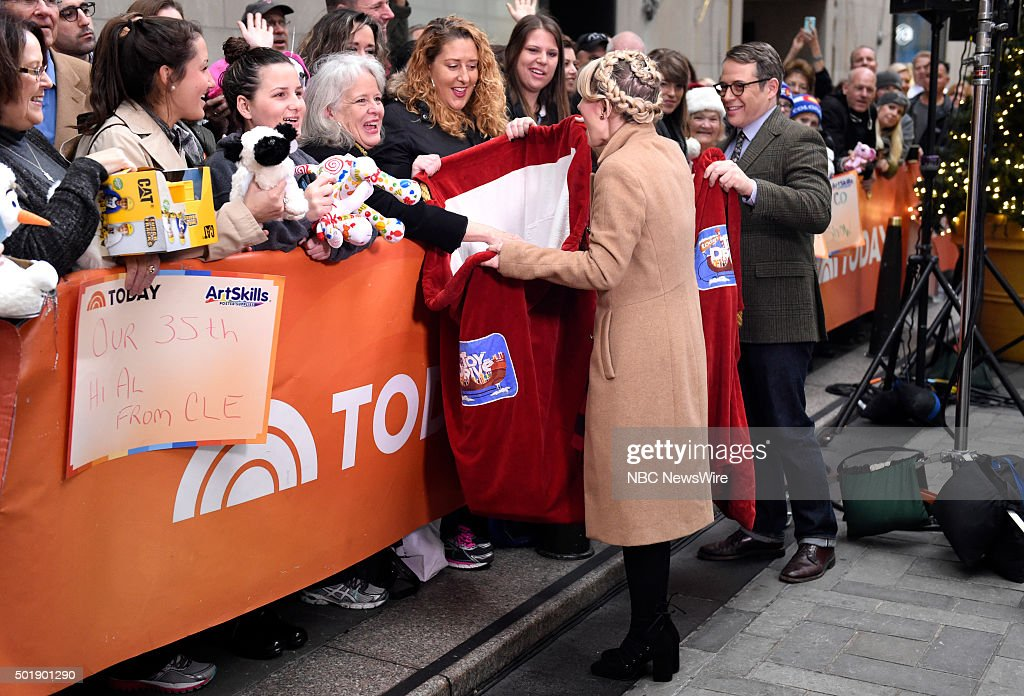 Annaleigh Ashford and Matthew Broderick appear on NBC News' 'Today' show --