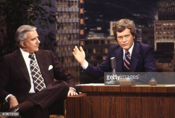 Announcer Ed McMahon during an interview with Guest Host David Letterman on April 9th 1979