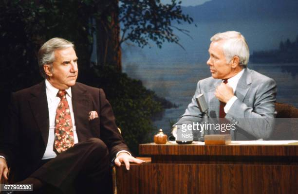 Announcer Ed McMahon host Johnny Carson on August 10 1979