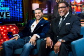 Apollo Nida and Gregg Leakes Photo by Charles Sykes/Bravo/NBCU Photo Bank via Getty Images