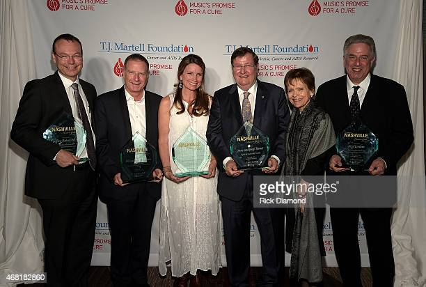 Pictured are Medical Research Advancement Award Honoree Dr Jeffery Balser Frances Preston Lifetime Music Industry Achievement Award honoree Bill...