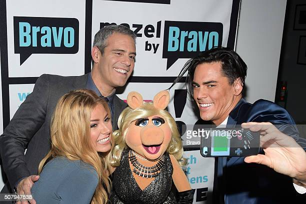 Ariana Madix Andy Cohen Miss Piggy and Tom Sandoval