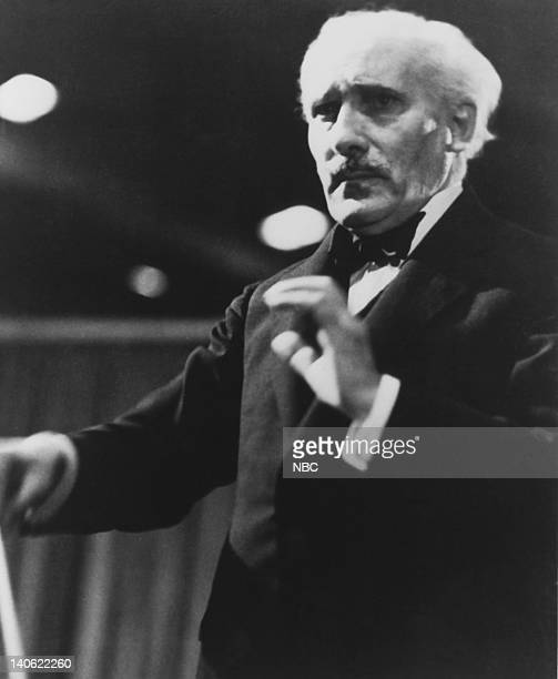 Arturo Toscanini conducting the NBC Symphony Photo by NBCU Photo Bank