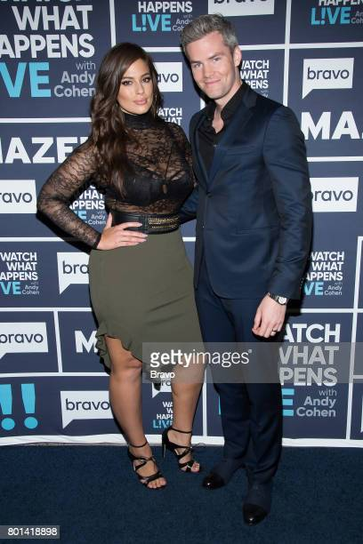 Ashley Graham and Ryan Serhant