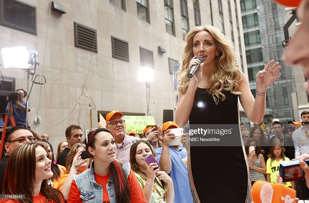 Ashley Monroe appears on NBC News' 'Today' show --