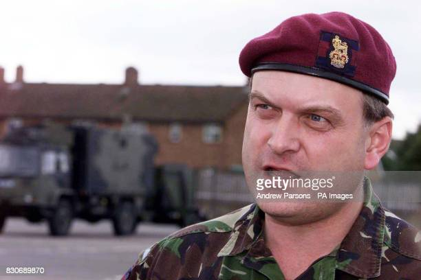 Pictured at Goojerat Barracks Colchester Brigadier Barney WhiteSpunner the commander of the 16 Air Assault Brigade who are preparing to head out to...