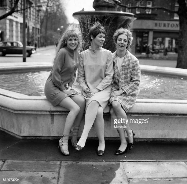 Pictured at rehearsals for Chekhov's 'Three Sisters' Marianne Faithfull Avril Elgar and Glenda Jackson 7th April 1967