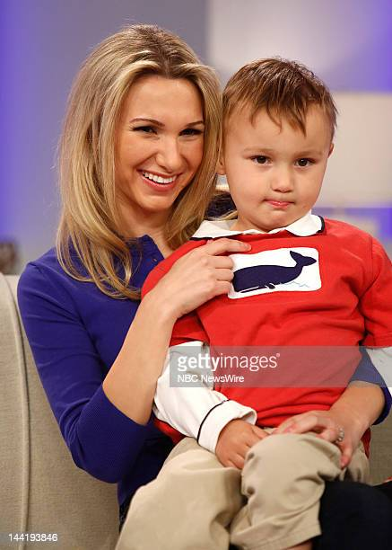 Attachment parenting practitioner/mother Jamie Grumet son Aram Grumet appear on NBC News' 'Today' show in support of breastfeeding until selfweaned