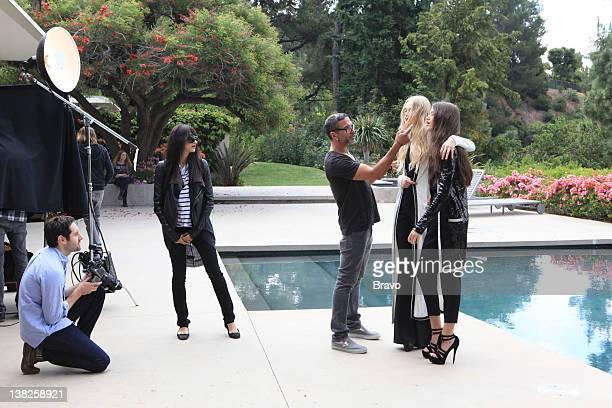 'Baby Changes Everything' Episode 408 Pictured Mandana Dayani design director Eric Sartori fashion models
