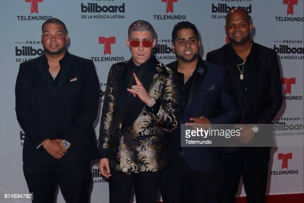 Bad Bunny on the Red Carpet at the Watsco Center in the University of Miami Coral Gables Florida on April 27 2017