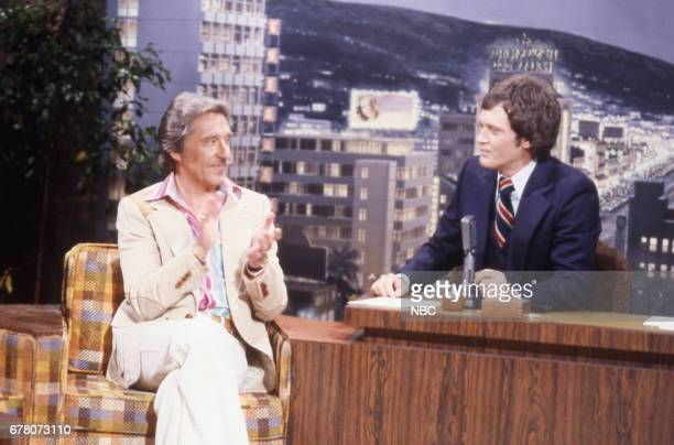 Band Leader Doc Severinsen during an interview with Guest Host David Letterman on April 9th 1979
