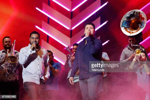 Banda MS performs during rehearsals at the Watsco Center in the University of Miami Coral Gables Florida on April 26 2017