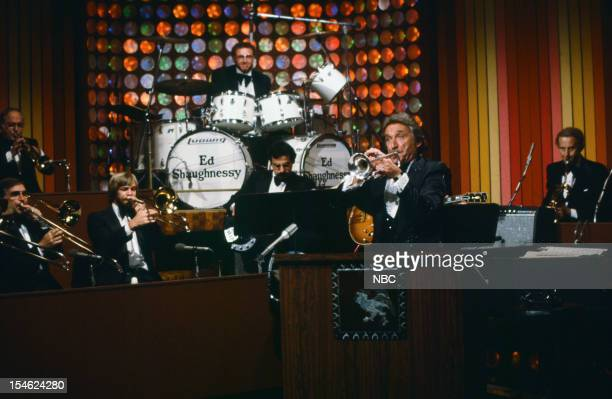 Bandleader Doc Severinsen and The Tonight Show Band