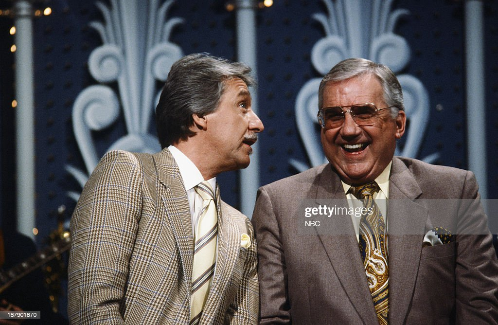 Bandleader Doc Severinsen, Announcer <a gi-track='captionPersonalityLinkClicked' href=/galleries/search?phrase=Ed+McMahon&family=editorial&specificpeople=216392 ng-click='$event.stopPropagation()'>Ed McMahon</a> c. 1987 --