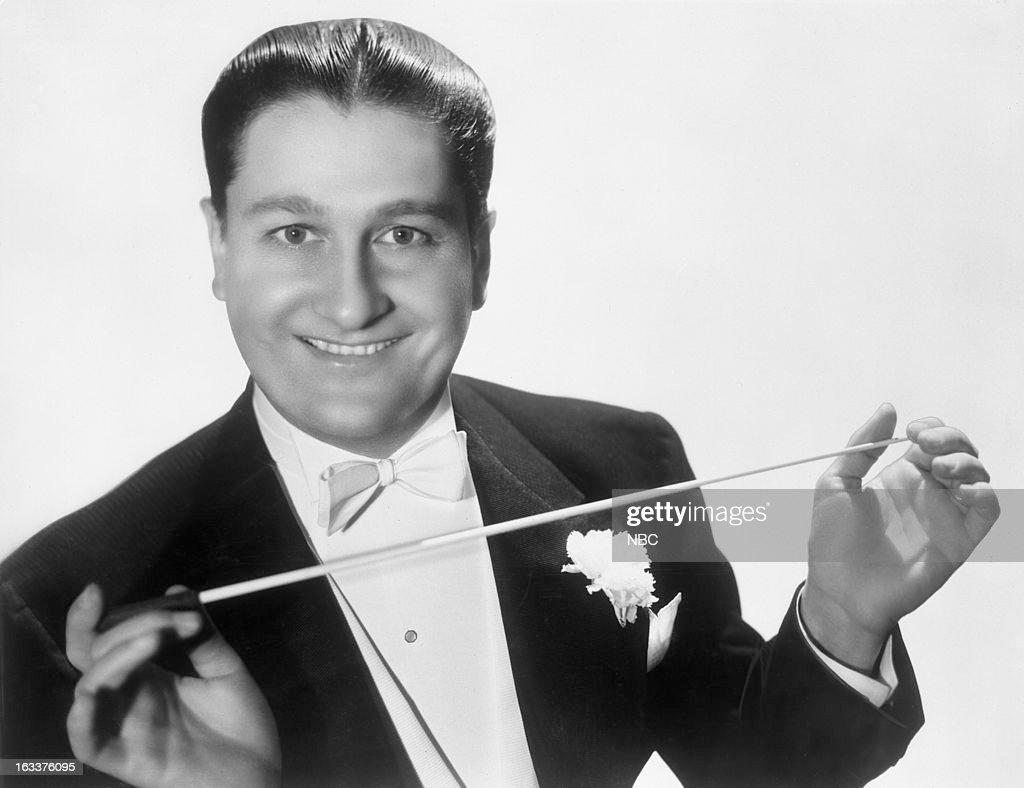 Bandleader Lawrence Welk in 1941 --